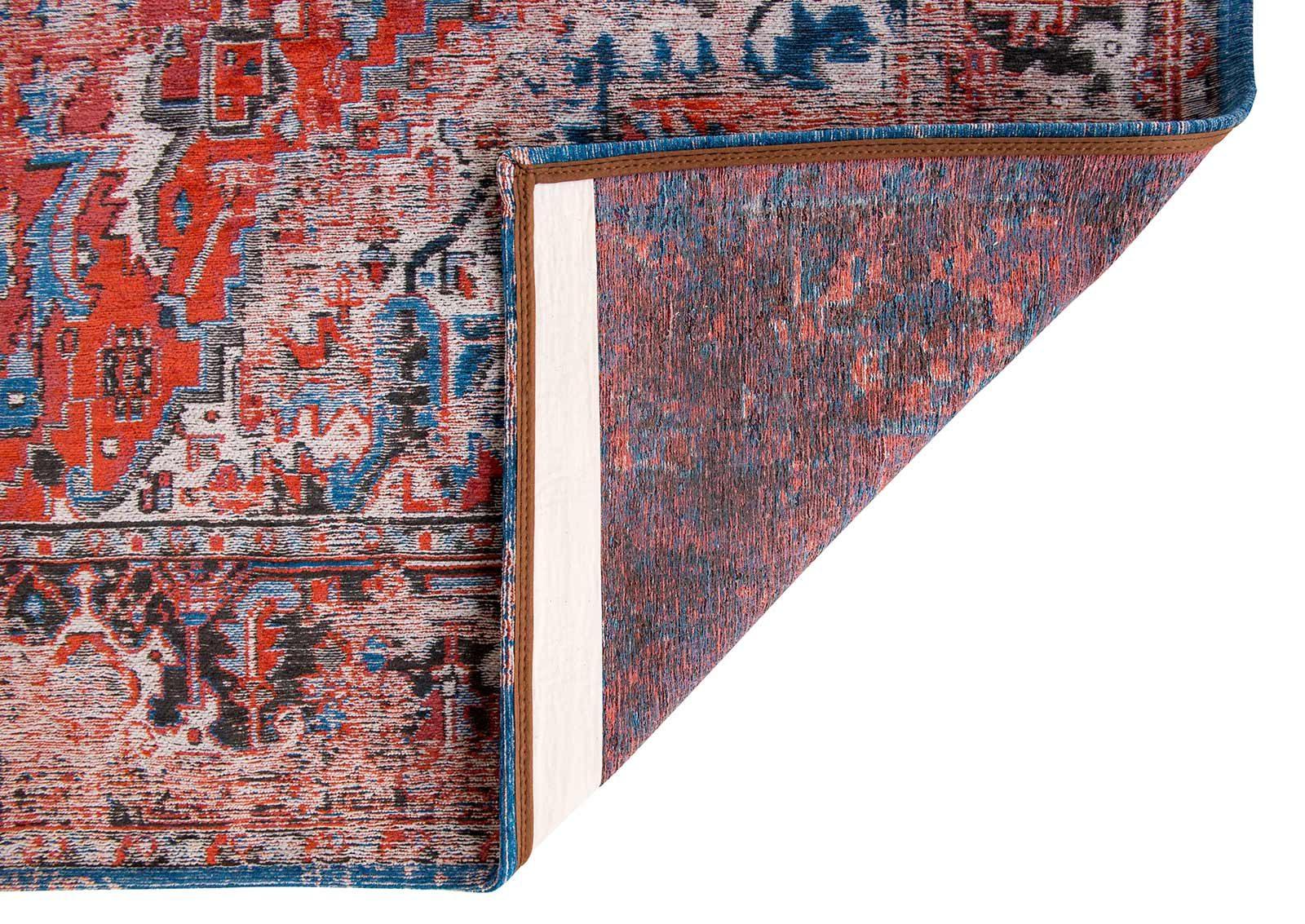 vloerkleed Louis De Poortere LX8703 Antiquarian Antique Heriz Classic Brick back