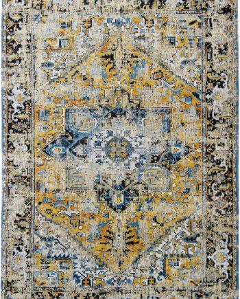 vloerkleed Louis De Poortere LX8704 Antiquarian Antique Heriz Amir Gold