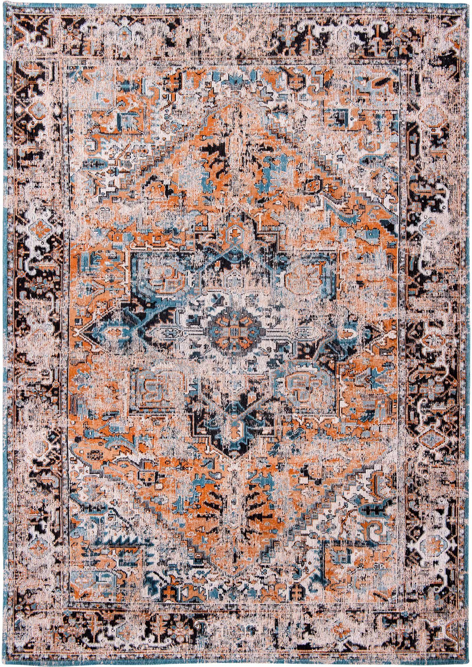 vloerkleed Louis De Poortere LX8705 Antiquarian Antique Heriz Seray Orange
