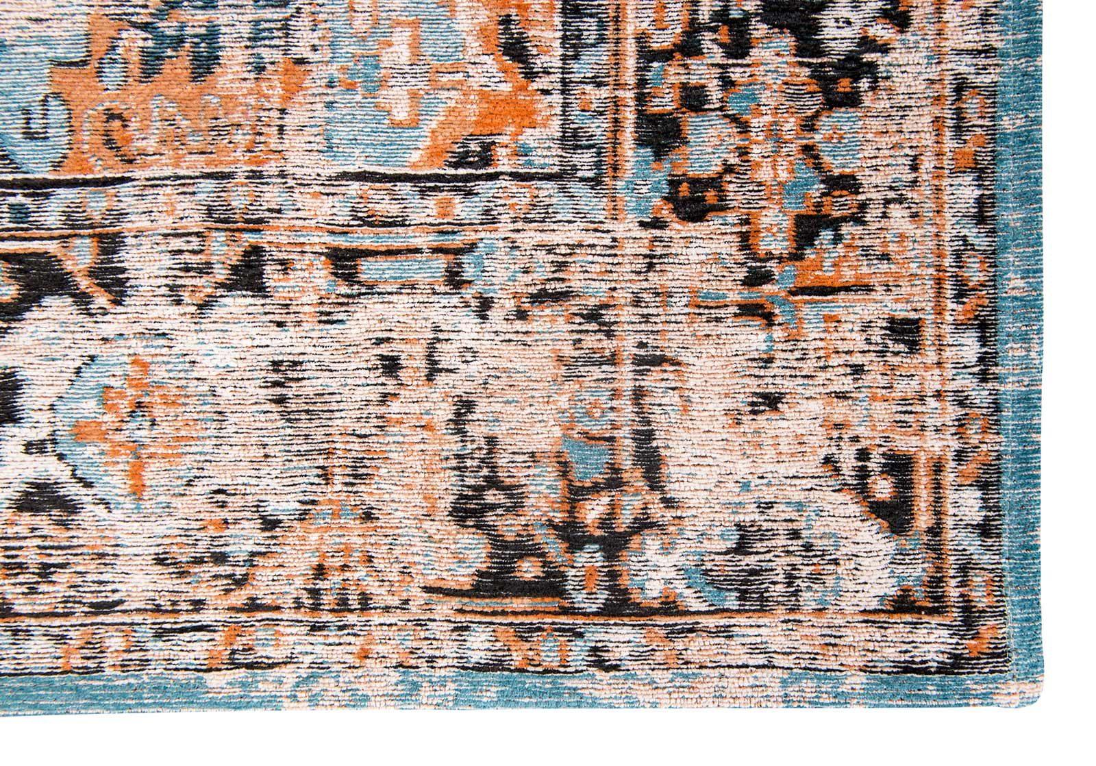 vloerkleed Louis De Poortere LX8705 Antiquarian Antique Heriz Seray Orange corner
