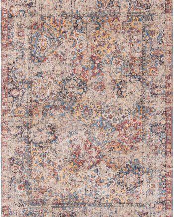 vloerkleed Louis De Poortere LX8713 Antiquarian Antique Bakthiari Khedive Multi