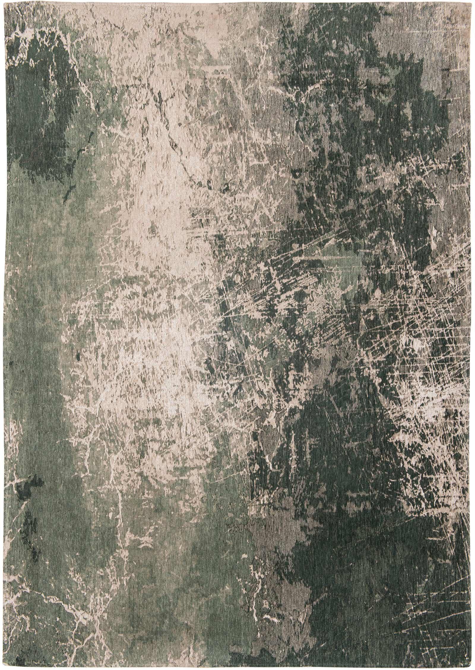 vloerkleed Louis De Poortere LX8723 Mad Men Cracks Dark Pine