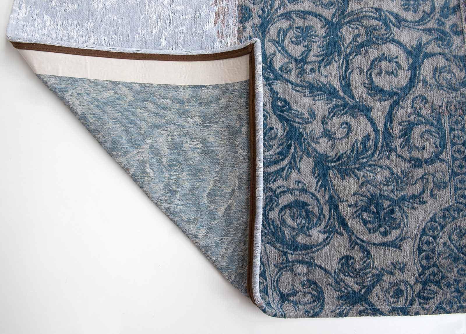 vloerkleed Louis De Poortere LX8981 Vintage Bruges Blue corner