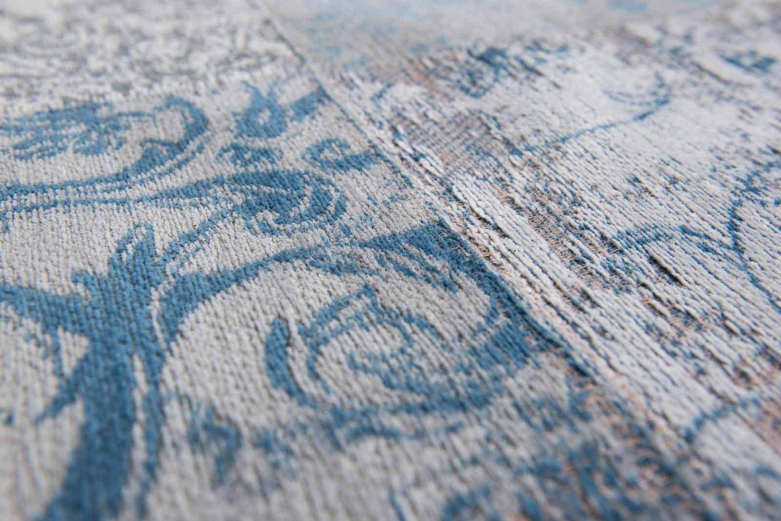 vloerkleed Louis De Poortere LX8981 Vintage Bruges Blue zoom