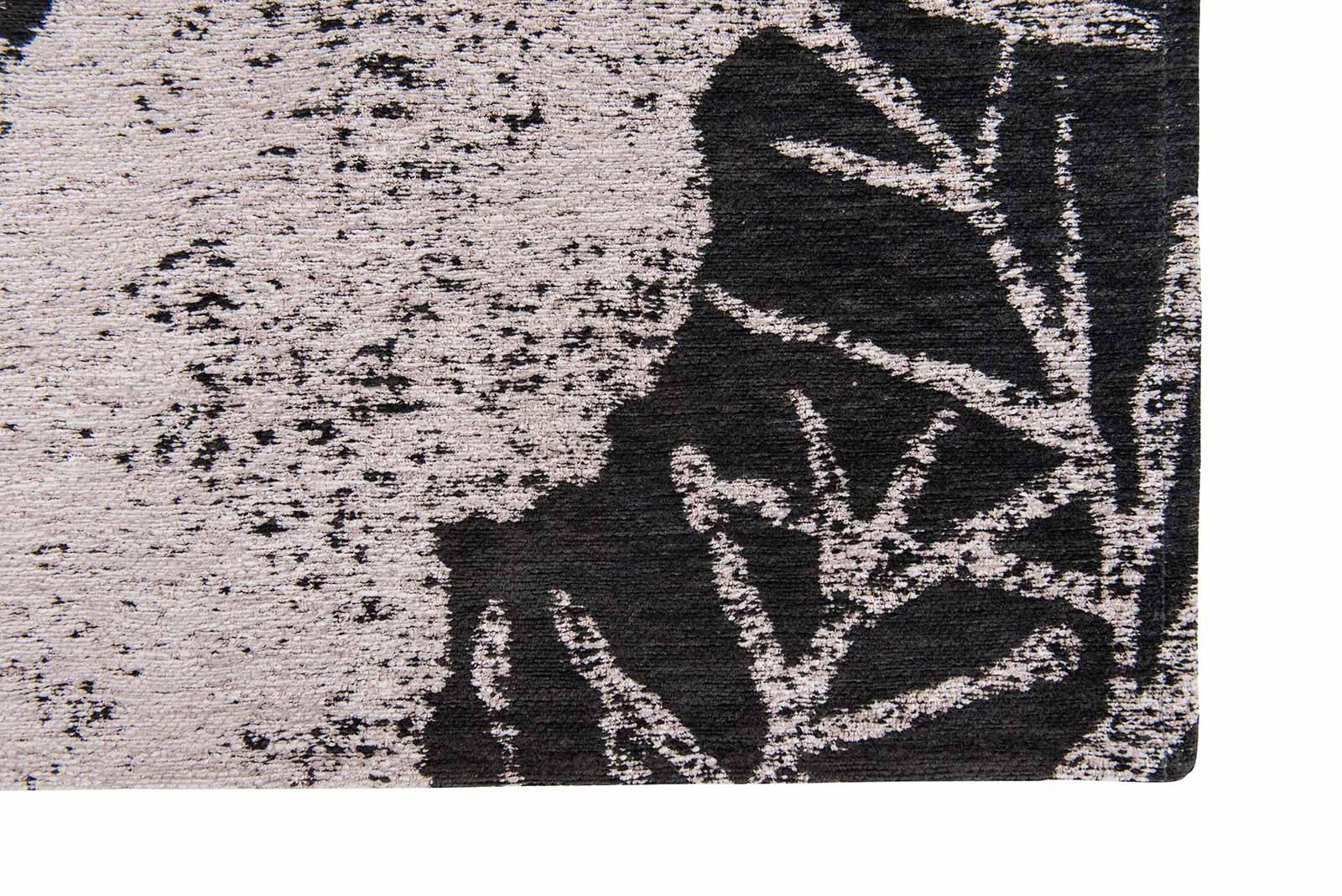 Louis De Poortere vloerkleed Romo LX 8741 Lomasi Charcoal corner