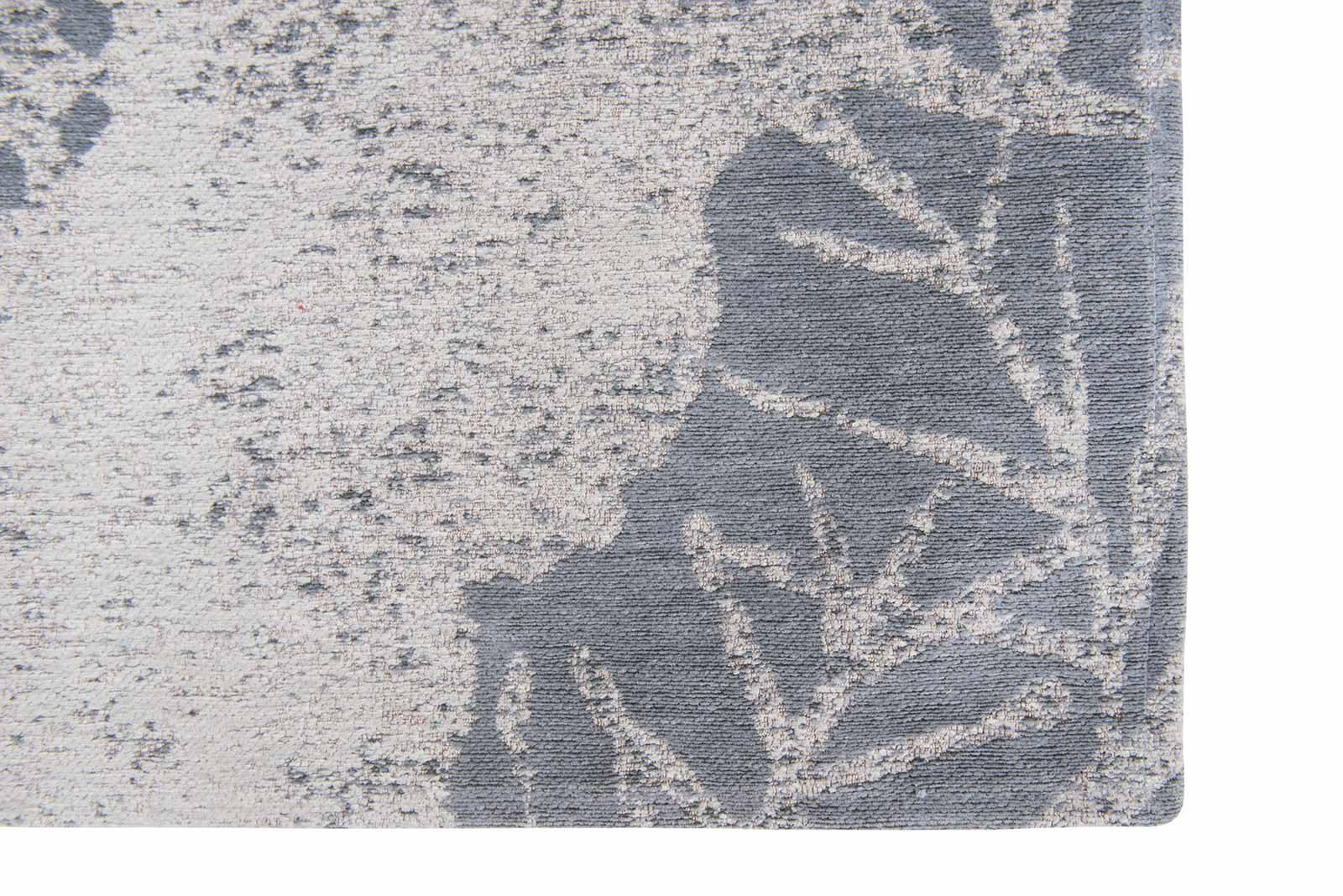 Louis De Poortere vloerkleed Romo LX 8742 Lomasi Steelblue corner