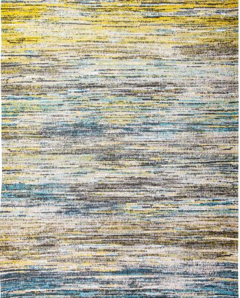 vloerkleed Louis De Poortere LX 8873 Sari Blue Yellow Mix