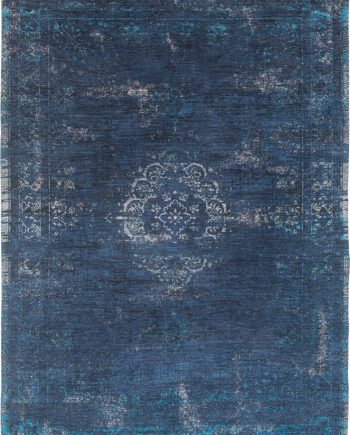 vloerkleed Louis De Poortere LX8254 Fading World Medaillon Blue Night