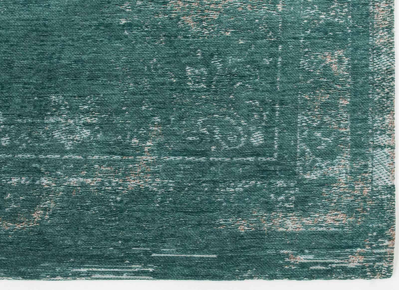 vloerkleed Louis De Poortere LX8258 Fading World Medaillon Jade corner