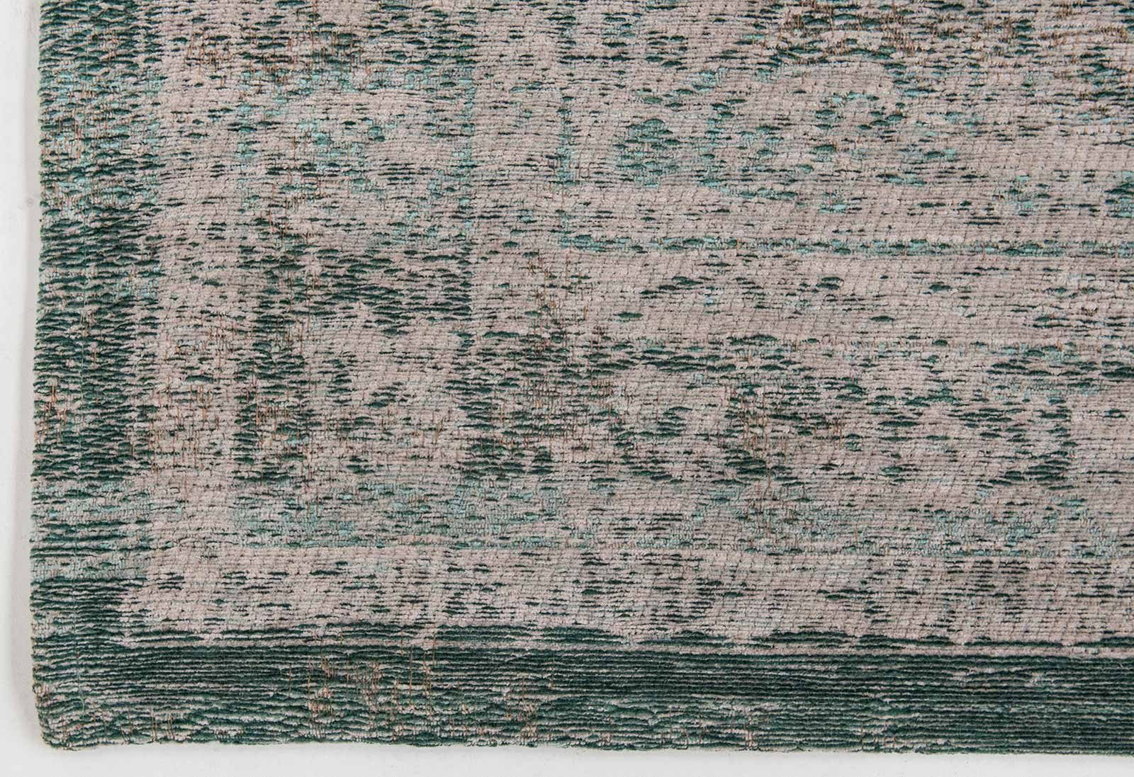 vloerkleed Louis De Poortere LX8259 Fading World Medaillon Jade Oyster corner