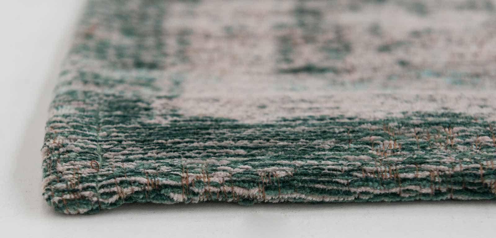 vloerkleed Louis De Poortere LX8259 Fading World Medaillon Jade Oyster side
