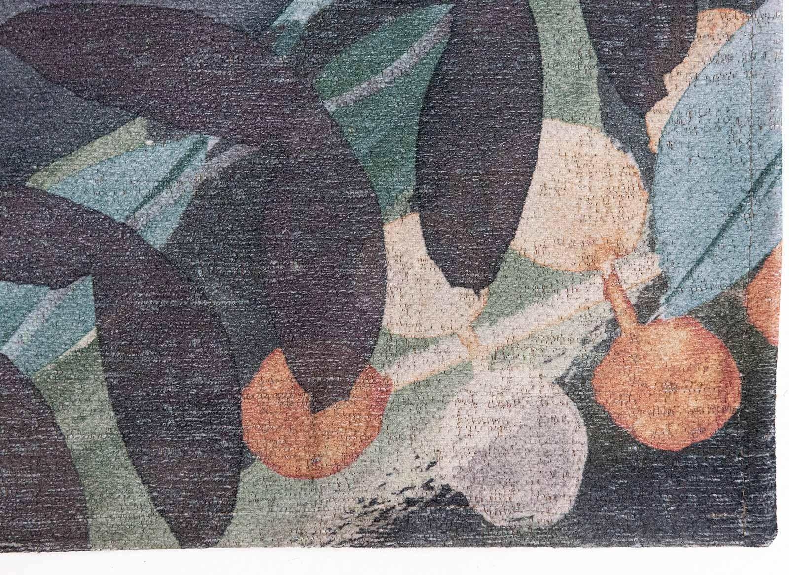 Louis De Poortere vloerkleed Fischbacher 8447 Estival Fresco corner
