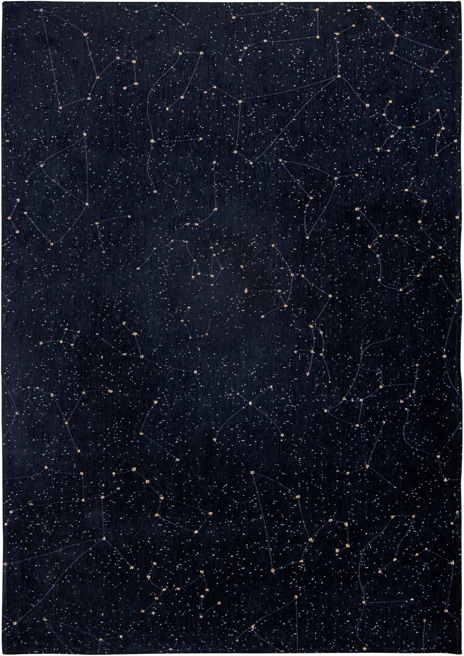 Louis De Poortere vloerkleed Fischbacher 9059 Celestial Night Sky