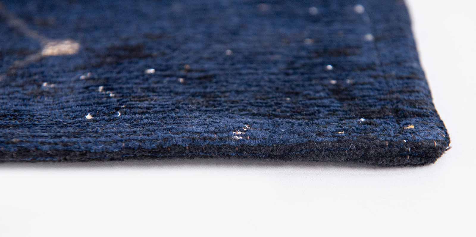 Louis De Poortere vloerkleed Fischbacher 9060 Celestial Midnight Blue side